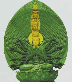 Goddess of mercy statue