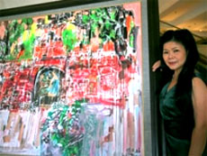 Paintings relive old hanoi